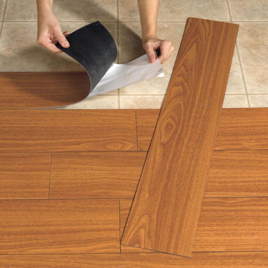 jenis lantai vinyl tile